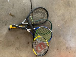 Assorted head tennis racquets and 1 Wilson kids for Sale in Union City, CA