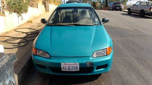 READ DESCRIPTION--1993 Honda civic motor y transmision automatica for Sale in Hazard, CA