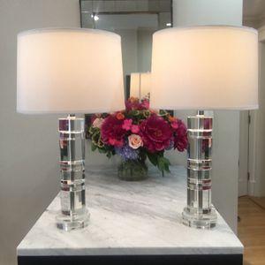 Ralph Lauren crystal lamps for Sale in San Francisco, CA