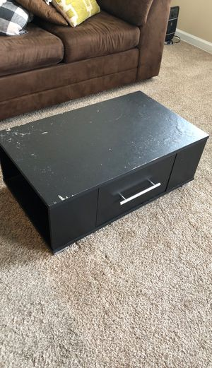 Coffee table black for Sale in Laurel, MD