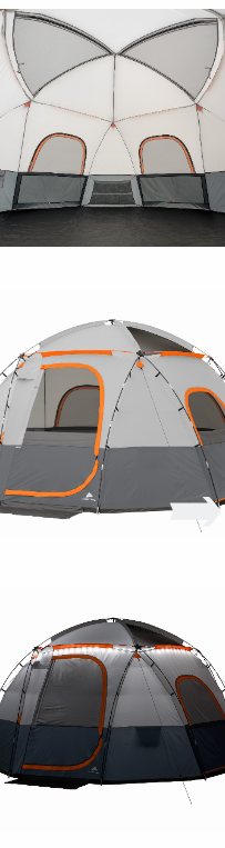 NEW (6 People) Outdoor Camping Sphere Tent Sleept Rope Lighted Spacious Interior Fit Mattress and Sleeping Bags Family Comfy *↓READ↓* for Sale in Chula Vista, CA