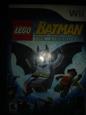Lego Batman the video game wii for Sale in Kingsport, TN