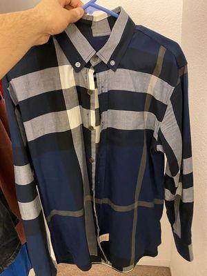 Burberry men's shirt for Sale in San Jose, CA