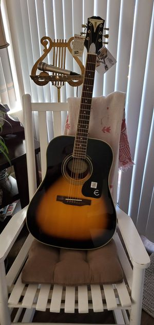 Brand new epiphone acoustic guitar!! for Sale in Tucson, AZ