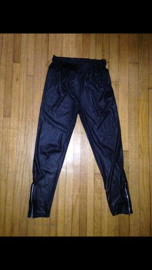 Junior KardashianKollection faux leather leggings size Large and Rue 21 faux leather pants size L/XL for Sale in Fort Worth, TX