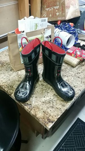 Kids star wars rain snow boots for Sale in Plainfield, IL