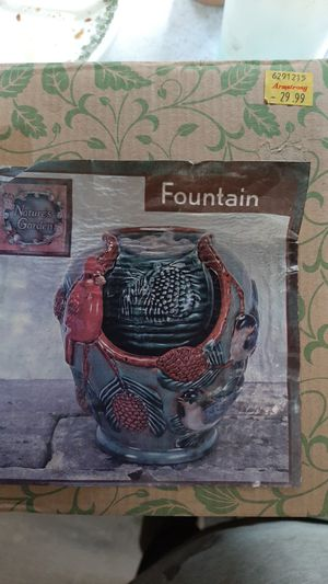 Natures garden fountain for Sale in Irvine, CA