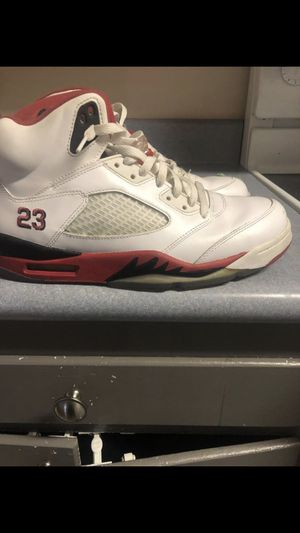 Fire red Jordan's for Sale in Raleigh, NC