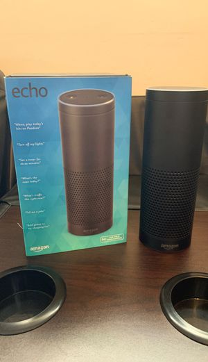 Amazon Echo 1st Generation with box for Sale in Newport News, VA