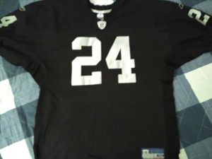 Oakland Raiders Charles Woodson Stitched Jersey size 52 for Sale in Carol Stream, IL