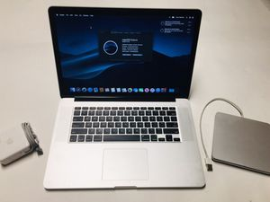 Back 2 School Apple Mac Book Pro Retina 15in w/ Apple USB Super Drive for Sale in Wheat Ridge, CO