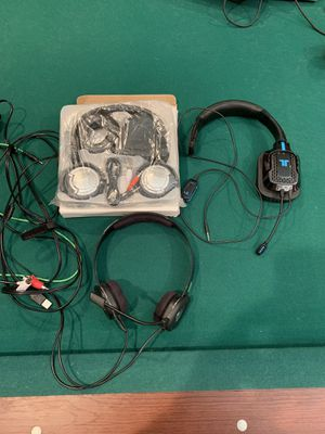 3 GAMING HEAD SETS for Sale in Wylie, TX