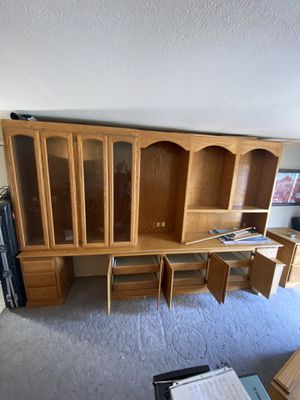 Storage/display wall unit 12ft by 8ft easy to transport for Sale in Las Vegas, NV