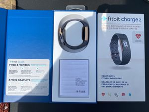 Fitbit Charge 2 Limited Rose Gold Edition for Sale in Hobart, IN