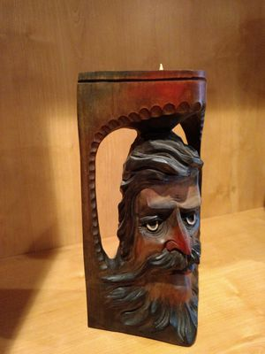 Wood Candle Holder ... for Sale in Des Plaines, IL