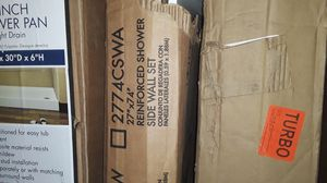 """Alcove Shower Walls 5"""" x 27"""" x 74"""" 2 Piece Direct to Stud for Sale in Atlanta, GA"""