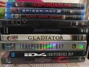 DVD and Blu-ray ask $2-$5 cars$5 for Sale in Montebello, CA