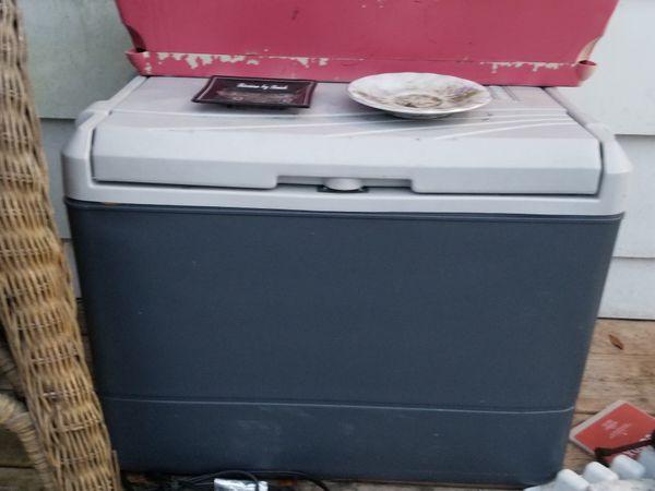 Coleman electric cooler
