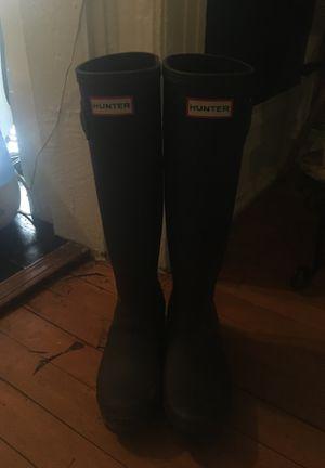 Hunter rain boots, for Sale in Salt Lake City, UT