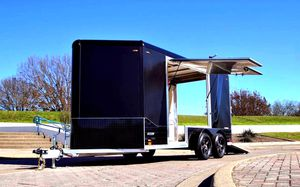Price$1000 CARGO Trailer Carrying Capacity 7000 for Sale in Houston, TX