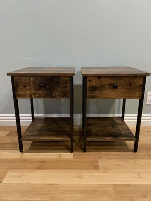 2 Nightstands / Endtables (BRAND NEW OUT OF BOX!) for Sale in Long Beach, CA