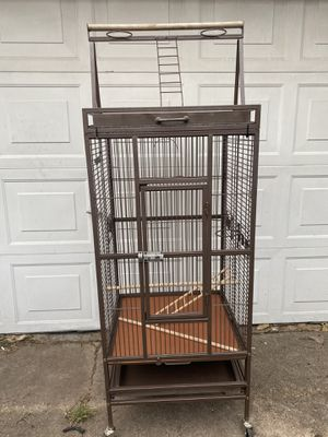Bird Cage Like new large size for Sale in Houston, TX