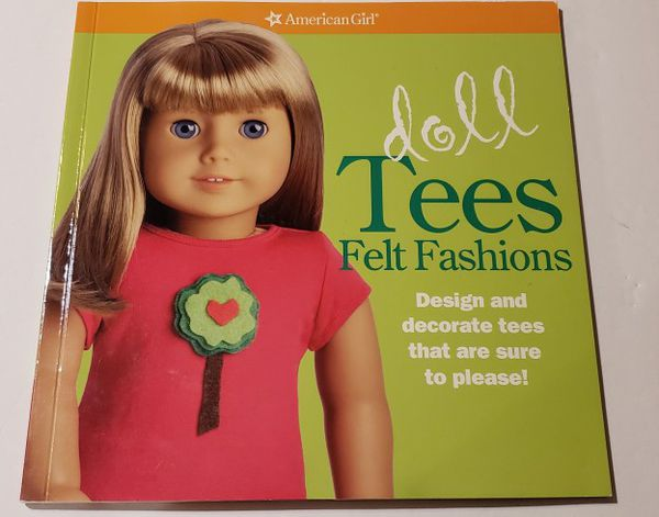 Two AG Tshirts, 1 Book, Sunglasses For Dolls
