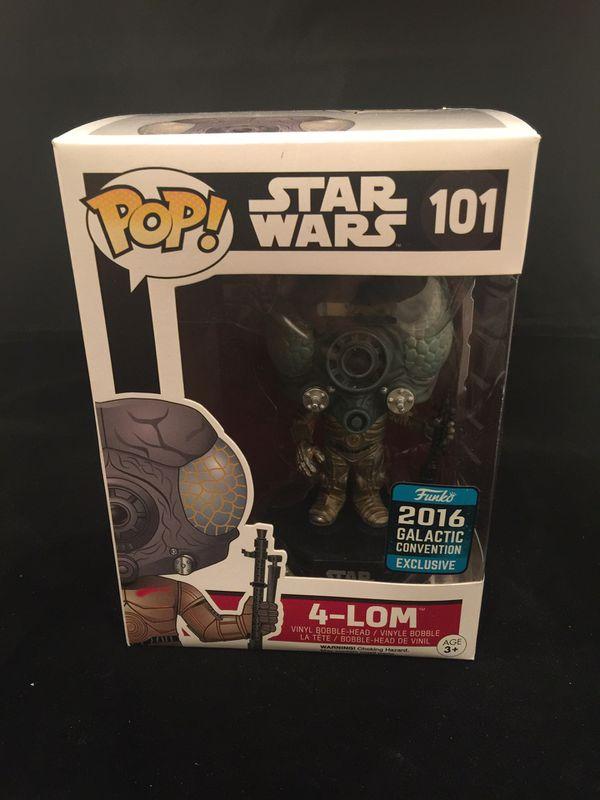 Funko Pop Star Wars 4-LOM