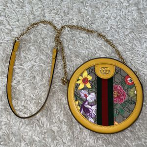 Gucci Ophidia GG Flora Mini Round Shoulder Bag for Sale in Windermere, FL