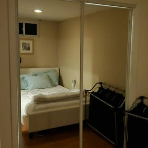 Mirror Glass Sliding Doors For Closet From Home Depot for Sale in Queens, NY