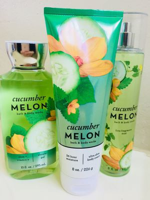New! Bath&body works 🥒CUCUMBER MELON 🍈 set of 3 for Sale in Chula Vista, CA