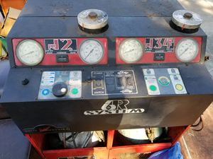 6R A/C dual R12/R134A Freon Machine by White Industries, Serviced and Sponsored by Snap-On for Sale in Pensacola, FL