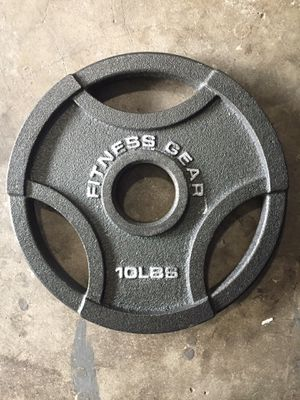 Fitness gear weight plate for Sale in Herndon, VA