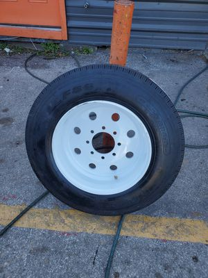 TRAILER TIRES AND WHEEL STARTING 250 DOLLARS EACH for Sale in Houston, TX