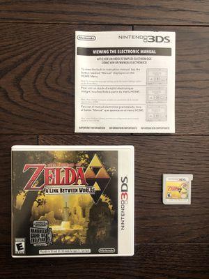The Legend Of Zelda: A Link Between Worlds Nintendo 3DS Complete for Sale in Yorba Linda, CA