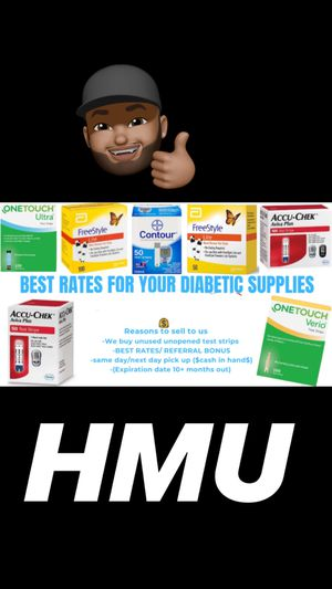Diabetic supplies and/or more for Sale in Tamarac, FL