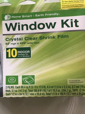 Duck brand window insulating kit for Sale in Ocean Shores, WA