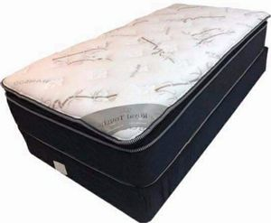 New royal touch memory foam Pillowtop twin size for Sale in Escondido, CA