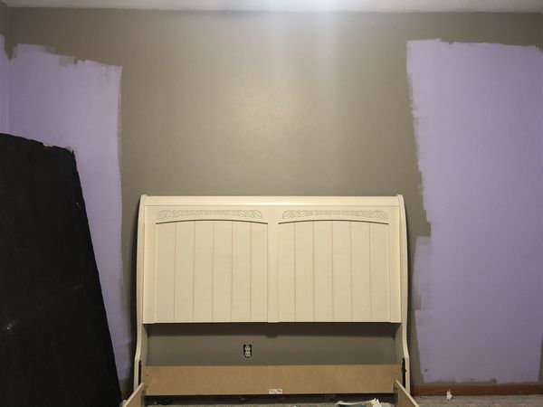 Bed frame and box spring