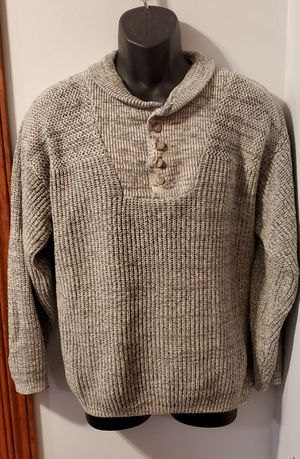 Northwest Territory Solid Gray Sweater 100% Arcylic Perfect Condition for Sale in Middletown, MD