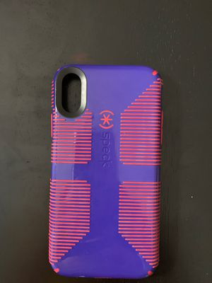 iPhone XR speck case for Sale in Summersville, WV