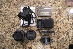 Sony a6500, Zeiss f4 16-70mm, Sigma f1.4 30mm for Sale in Irvine, CA
