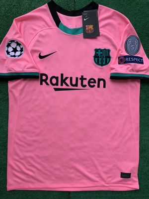 2020/21 Barcelona 3rd kit soccer jersey for Sale in Raleigh, NC