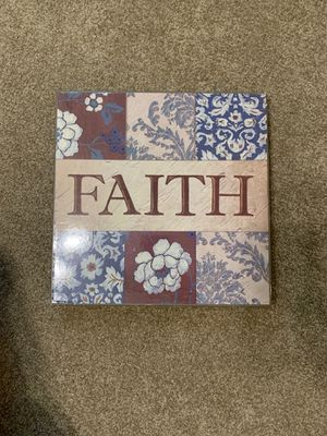 """""""Faith"""" Wall Decoration for Sale in Rock Island, IL"""
