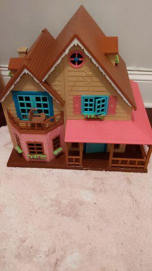 Lol woodzeez honeysuckle hillside cottage doll house for Sale in Long Beach, CA