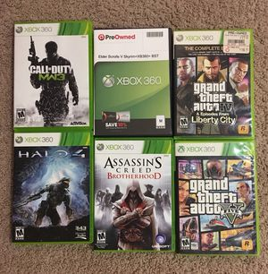 Xbox360 games $8 each for Sale in Prior Lake, MN