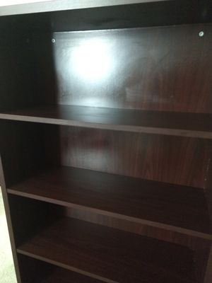 Sturdy Five-Shelf Laminate Bookcase ($70 OBO) for Sale in Seattle, WA