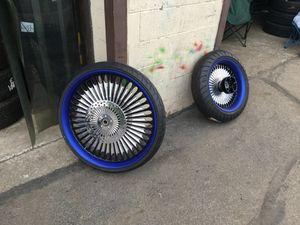 26' inch Foose Custom Rims, Tires & rotors 18' inch rear for Sale in Nashville, TN