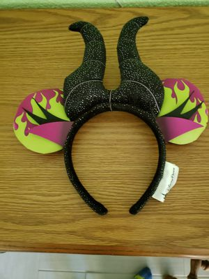 Disney World park Malificent ears never worn for Sale in NEW PRT RCHY, FL