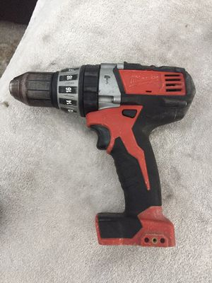 Milwaukee hammer drill M18 for Sale in Los Angeles, CA